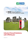 Industry Firewall Solutions with VPN Router