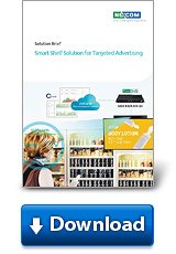 Smart Shelf Solution for Targeted Advertising