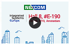 NEXCOM Smart Engine ‧ Smart City at ISE 2019