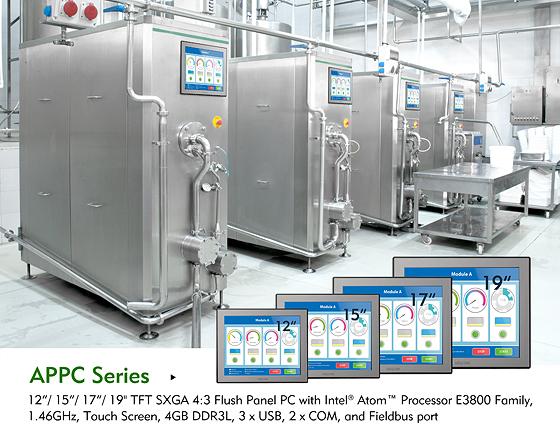 Industry 4.0-compliant Smart Panel PC based on the Latest Intel® Atom™ Processor E3800 Family