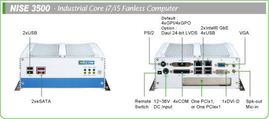 fanless PC-NISE 3500M