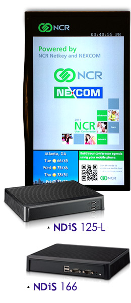 Digital Signage Player-NDiS 125-L / NDiS 166