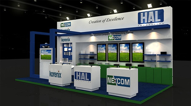 HAL to Showcase NEXCOM's Latest Innovations at Gitex Technology Week 2011