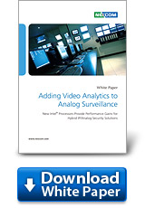 Adding Video Analytics to Analog Surveillance