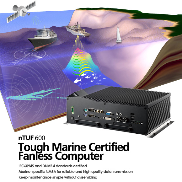 Tough Marine Compliant Fanless Computer Sets Sail on Maiden Voyage