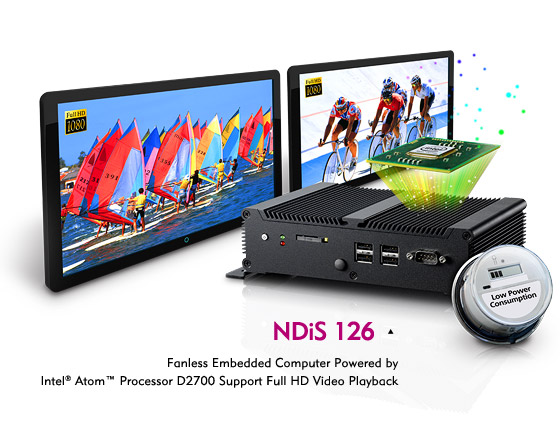 1080P media player, Digital Signage Player - NDiS 126