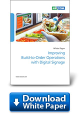 mproving Build-to-Order Operations with Digital Signage
