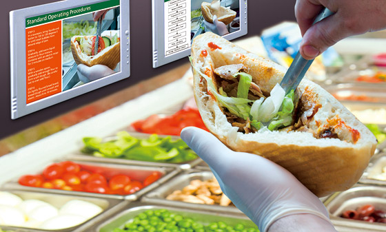 Improving Build-to-Order Operations with Digital Signage