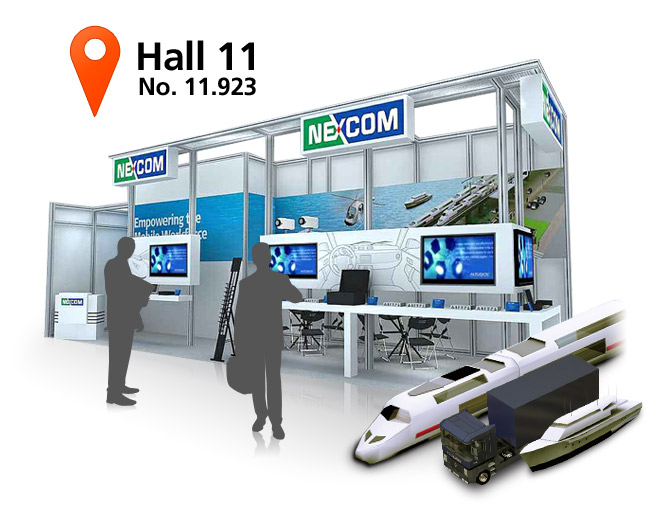 NEXCOM In-Vehicle Solutions Pave the Way for Telematics at Intertraffic 2012
