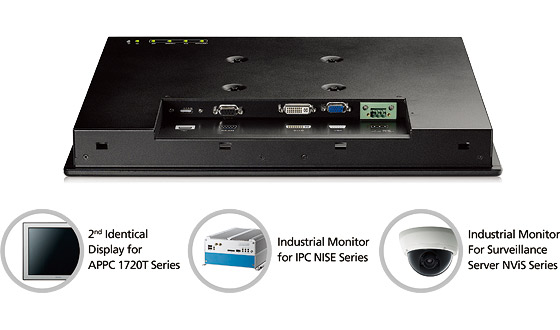 APPD 1700T is the best solution for NEXCOM NISE fanless computer and NViS security surveillance series