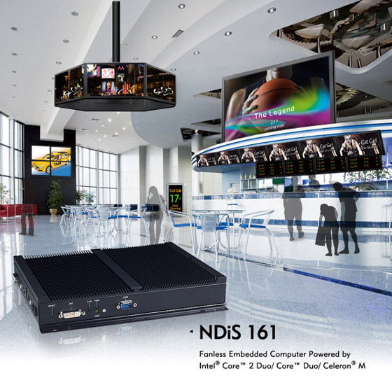 1080P media player, Digital Signage Player - NDiS 161