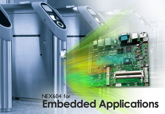 "3.5""  Embedded Board Series Leads the Wave of Atom™ D2700 Solutions"