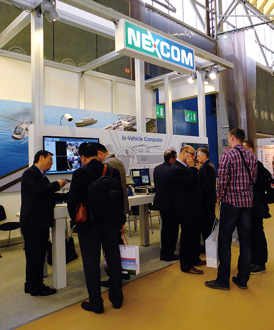 NEXCOM Meets the Requirements for Traffic Management at Intertraffic