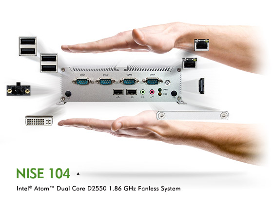 Small NISE 104 Fanless Industrial Controller Shows Enormous Functions