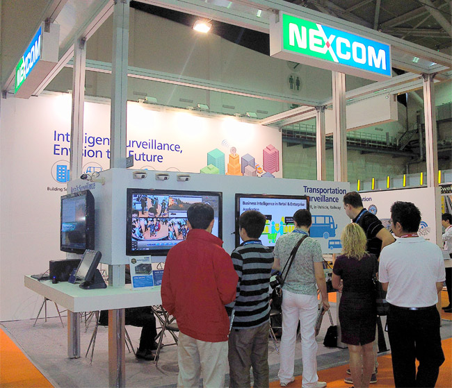 NEXCOM Digital Security Surveillance Solutions Stimulates Demands at Secutech 2012
