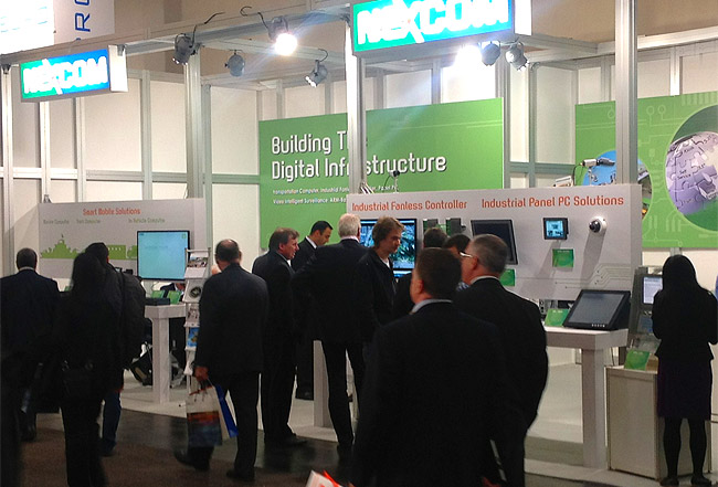 NEXCOM's Automation Innovations Shining at Hannover Messe 2012