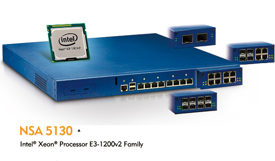 1U Network Security Appliances Boost Security, Performance, and Efficiency with Intel® Xeon® Processor E3-1200v2 Family