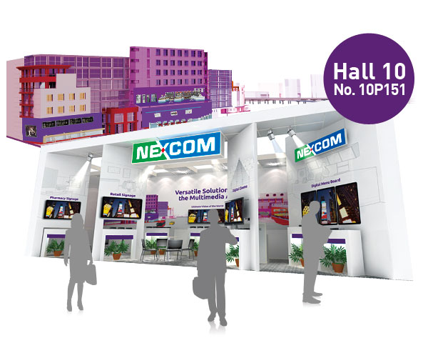 NEXCOM Returns to ISE with In-demand Digital Signage Technologies