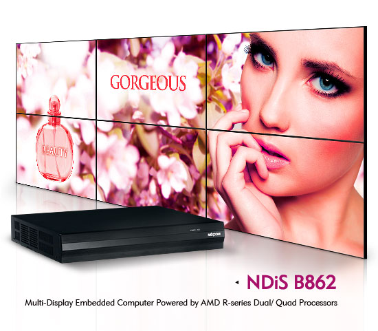 Dual-GPU Video Wall Player Supports 6K Resolution on Six Displays