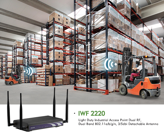 Industrial Wi-Fi AP Provides Real-time Data Access across Light Industrial Environments