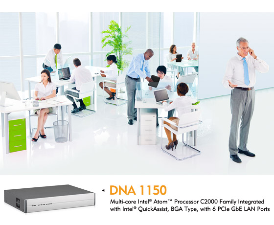 NEXCOM Desktop Network Appliance DNA 1150 Builds A Securely Connected Workplace