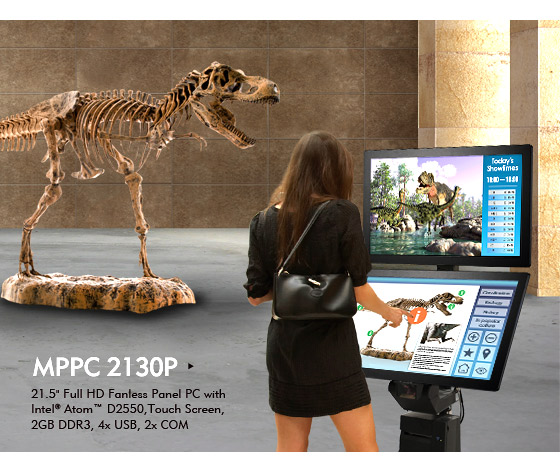 Professional Multi-Touch Multimedia Panel PCs Play Like Big Apple