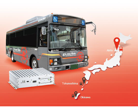 NEXCOM In-vehicle Computers Help Local Electric Buses Cut Fuel Use and CO2 Emission