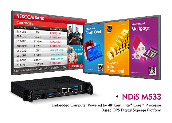 OPS Media Player NDiS M533 Wows Audience with Quick Interactive Response and 4K Ultra HD