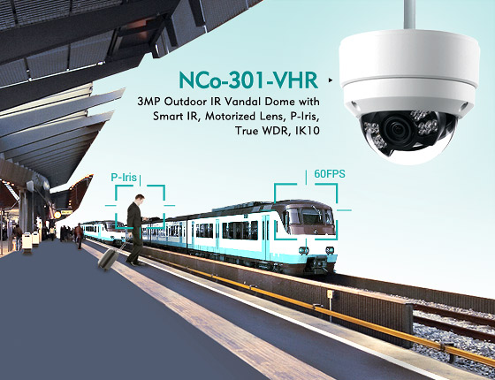 NEXCOM Discreet Mini Dome Megapixel IP Cameras Show Performance, Hide Appearances