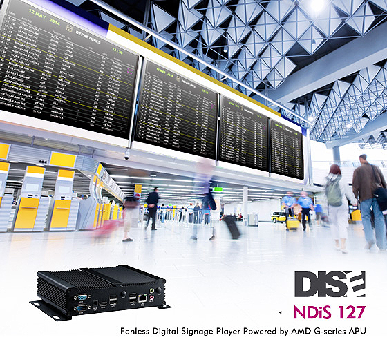 NDiS 127 Digital Signage Player Receives DISE 8 Certification