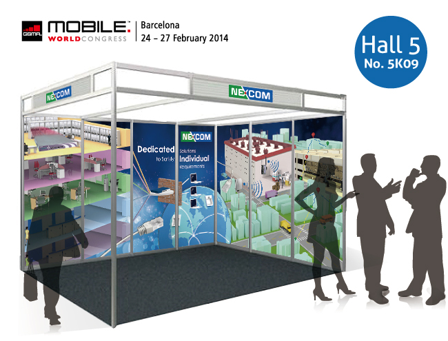 Explore NEXCOM's Full Range of Networking and Industrial Wi-Fi Solutions at Mobile World Congress 2014