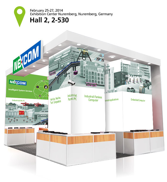 NEXCOM Presents Its Intelligent Systems at Embedded World 2014