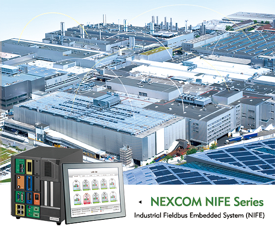 NEXCOM PC-based Factory Automation Solution Ushers in the Era of the Connected Factory