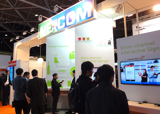 NEXCOM's Digital Signage Solutions Shone at ISE 2014