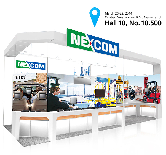 Discover NEXCOM's Smarter Public Transportation and Special Purpose Vehicle Solutions at Intertraffic 2014