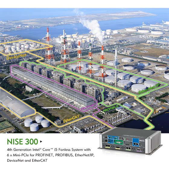 Fieldbus Concentrator NISE 300 Unleashes the Power of Big Data to Improve Factory Efficiency