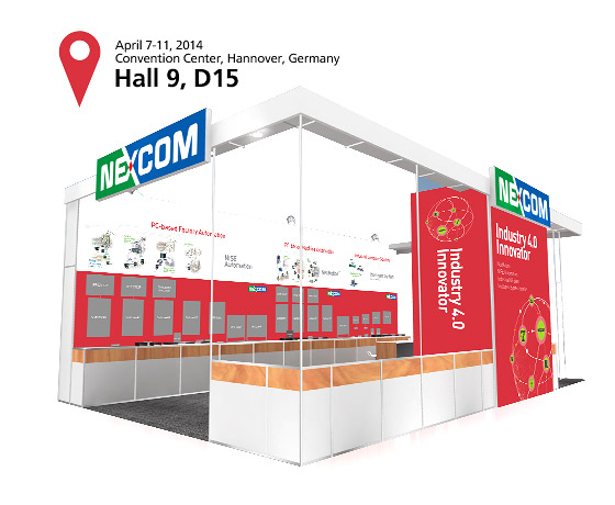 NEXCOM Maps Out Industry 4.0 Innovations at Hannover Messe 2014