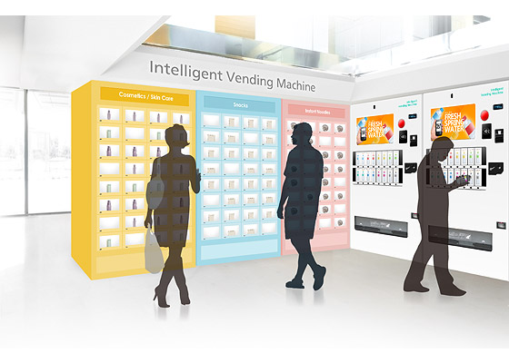 NEXCOM Maximizes Value of Intelligent Vending Machines with Vending, Advertisement, and e-Commerce