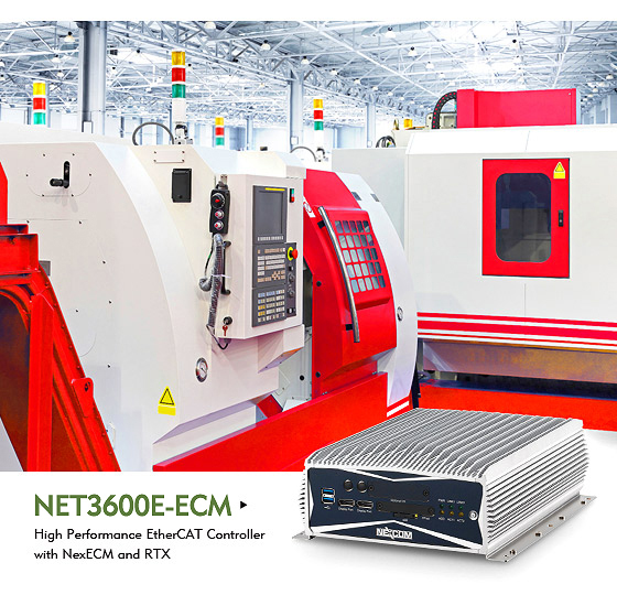 NEXCOM EtherCAT Master Solution Hastens Development of Industrial Real-time Ethernet Motion Control