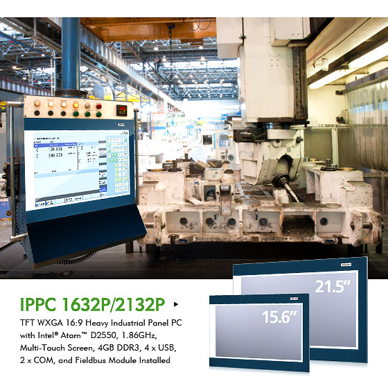 NEXCOM Multi-touch Industrial Fieldbus Panel PCs Manage Factory Floors, Enabling Factory-of-Things