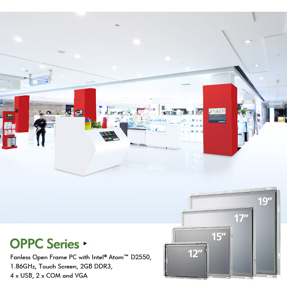 NEXCOM Open Frame Panel PC Offers Flexibility yet Reliability to Customized Applications