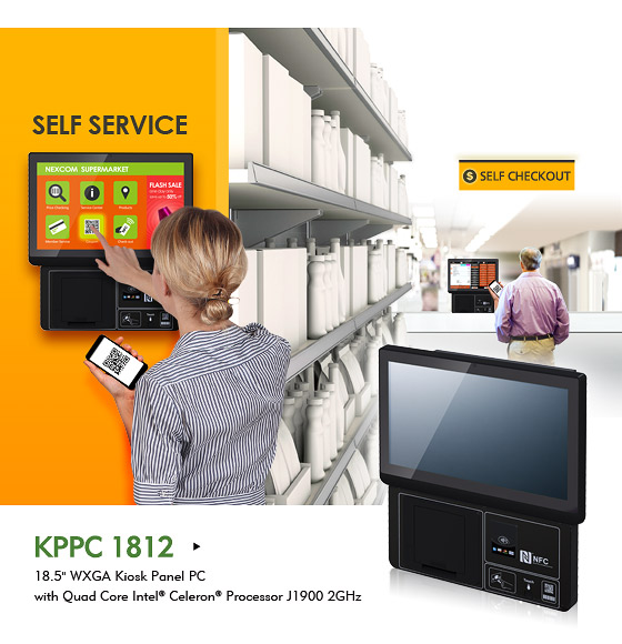 KPPC 1812 Facilitates Function Integration to Build Smart Future-proof Kiosk