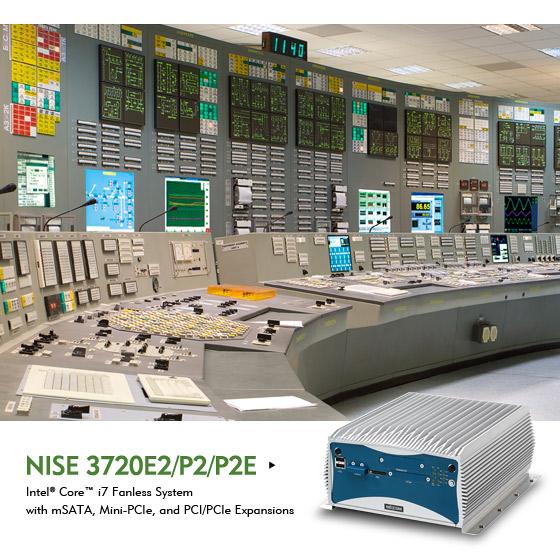 NISE 3720 Fanless Computer Bridges Business Decisions and Factory Operations with Industrial IoT
