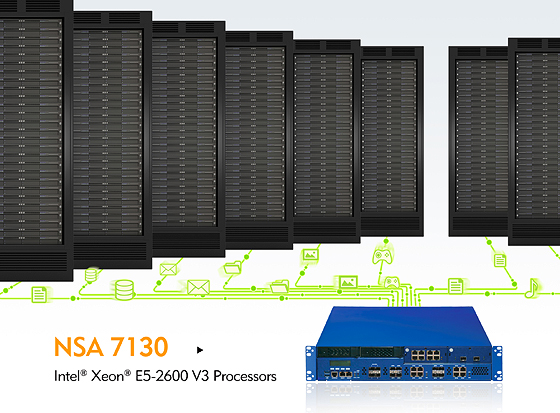 NEXCOM NSA 7130 Makes Performance and Green Pushes on Network Security
