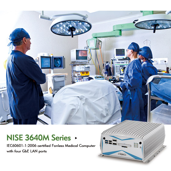 IEC 60601-1 Certified Fanless Medical Computer Facilitates Co-diagnostics in ORs