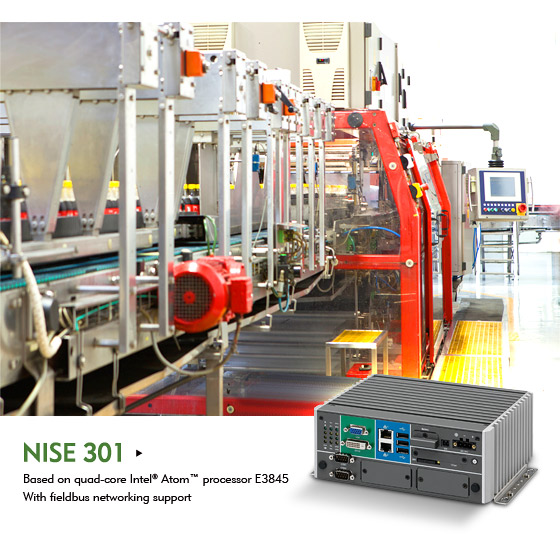 Compact Fanless NISE 301 Shows Flexibility towards Function Consolidation