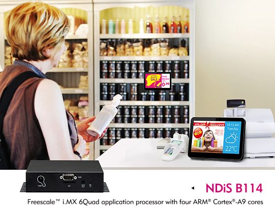 NEXCOM Digital Signage Player Now Runs Android™ OS