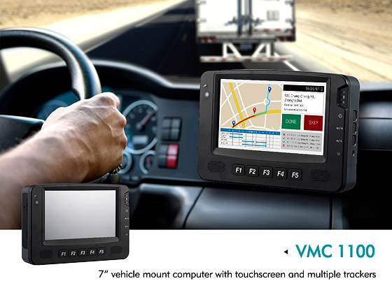 Vehicle Mount Computer VMC 1100 Keeps Fleets Rolling with Data