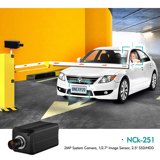 NEXCOM's Decentralized Security Camera System Improve Business Operations with Full HD Video Analytics