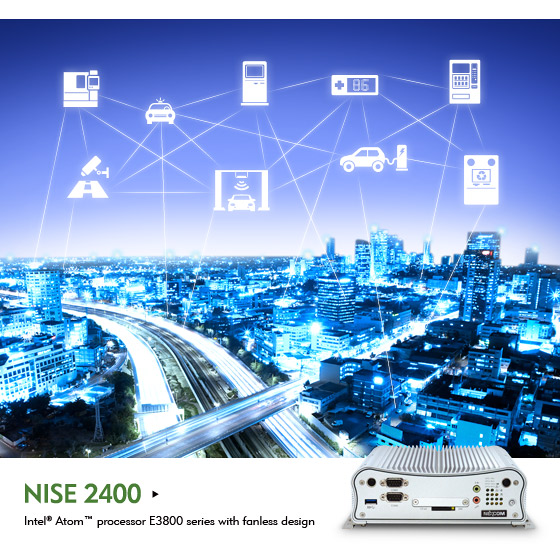 Fanless NISE 2400 Series Propels Smart Cities Forward